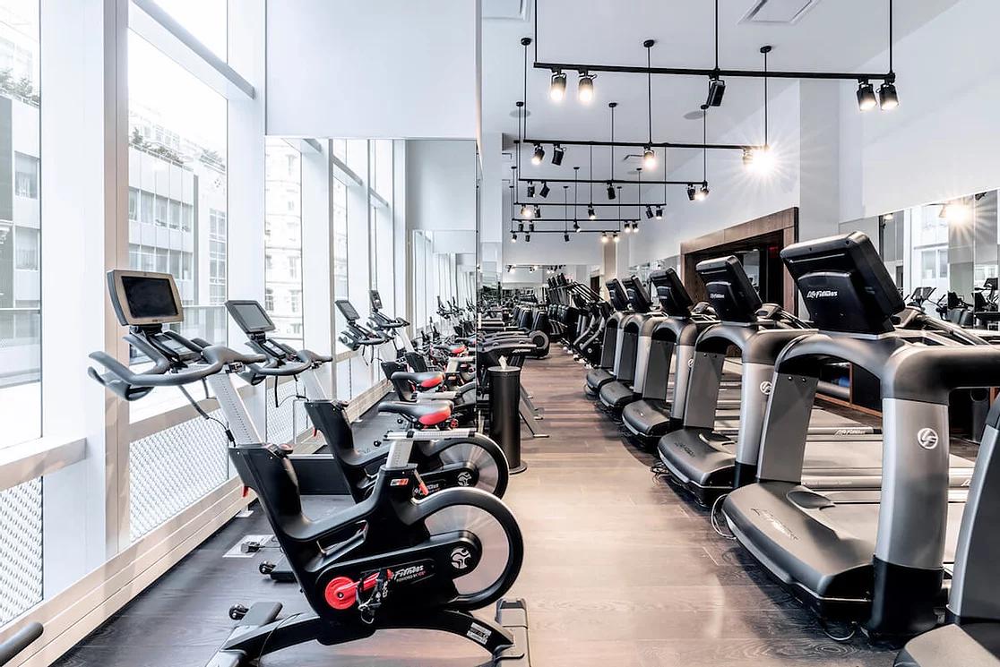 gym floor hotel