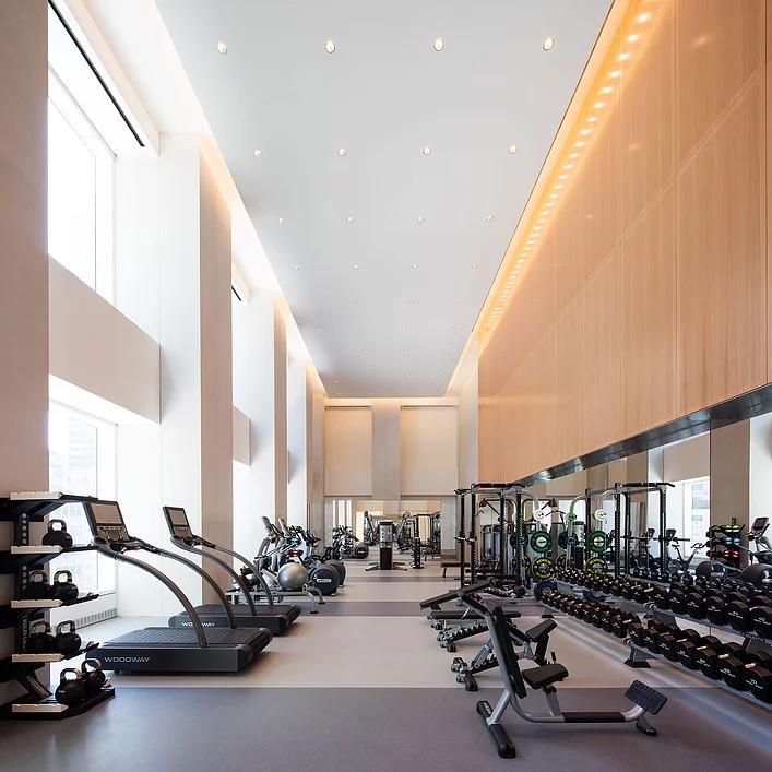 hotel public gym
